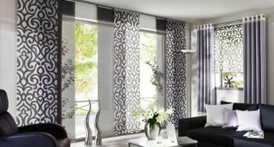 gardine gro e fensterfront alle ideen ber home design. Black Bedroom Furniture Sets. Home Design Ideas